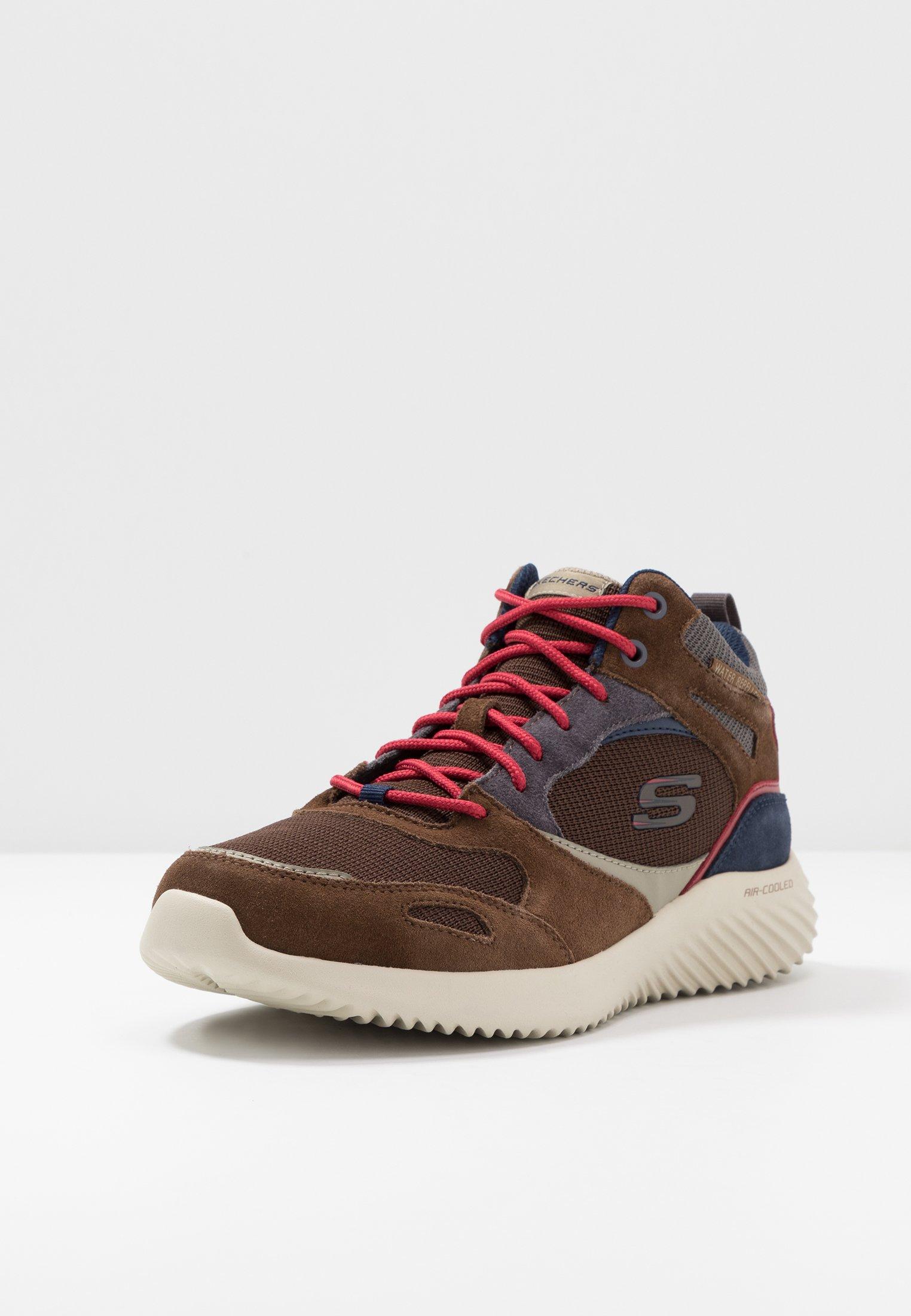 Skechers mid montantes brown Sport BOUNDERBaskets tint wN80OPknX