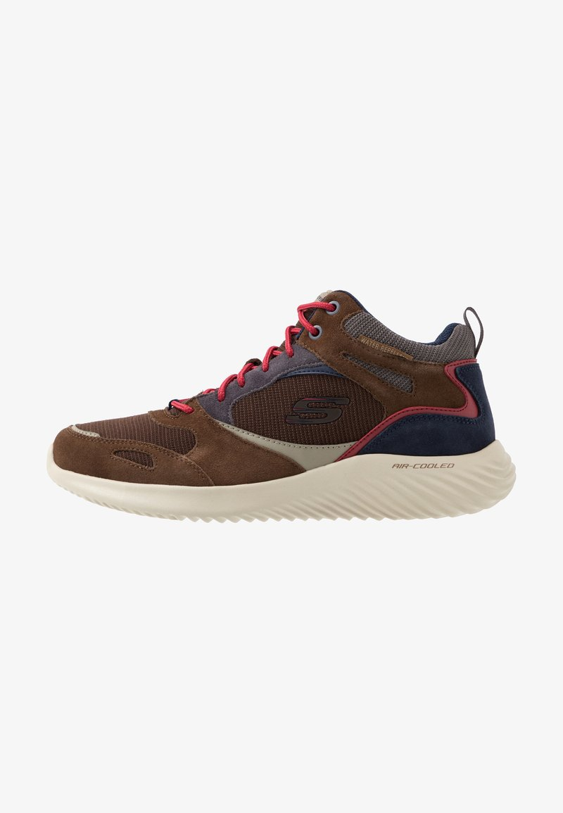 Skechers Sport - BOUNDER - Sneaker high - brown/mid tint
