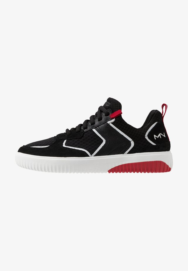 RIDGE - Trainers - black/red