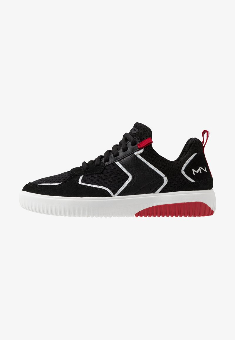 Skechers Sport - RIDGE - Sneakersy niskie - black/red