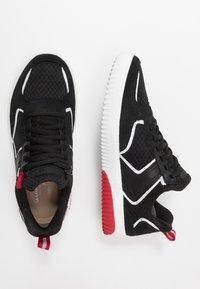 Skechers Sport - RIDGE - Sneakersy niskie - black/red - 1