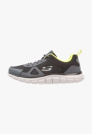 TRACK - Trainers - charcoal/lime
