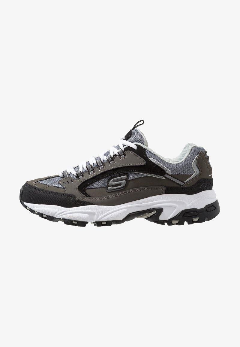 Skechers Sport - STAMINA - Sneakersy niskie - charcoal/black