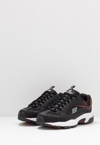 Skechers Sport - STAMINA - Sneakersy niskie - black/red - 2