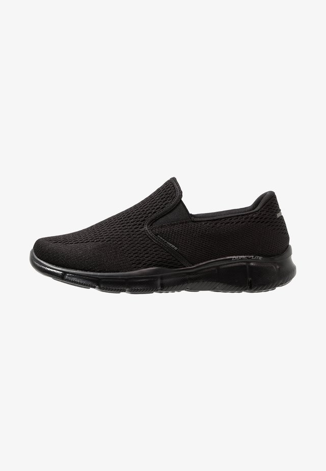 EQUALIZER - DOUBLE PLAY - Slip-ons - black