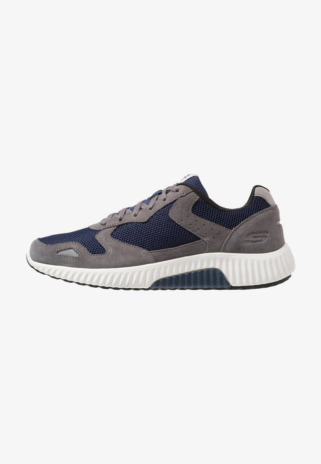 PAXMEN - Trainers - charcoal/navy