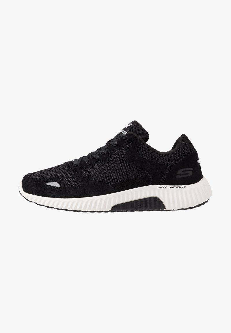 Skechers Sport - PAXMEN - Sneaker low - black/white
