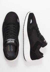 Skechers Sport - PAXMEN - Sneaker low - black/white - 1