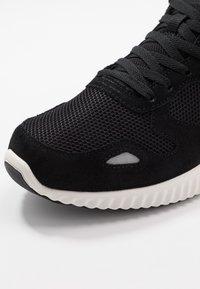 Skechers Sport - PAXMEN - Sneaker low - black/white - 5