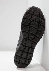 Skechers Sport - SUMMITS  FORTON - Scarpe senza lacci - black - 4