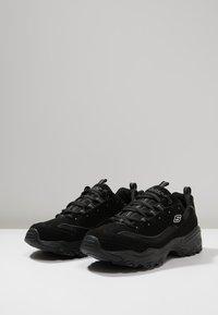 Skechers Sport - D'LITES - Sneaker low - black - 2