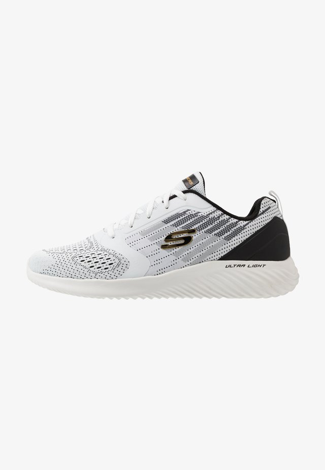 BOUNDER - Sneakersy niskie - white/black