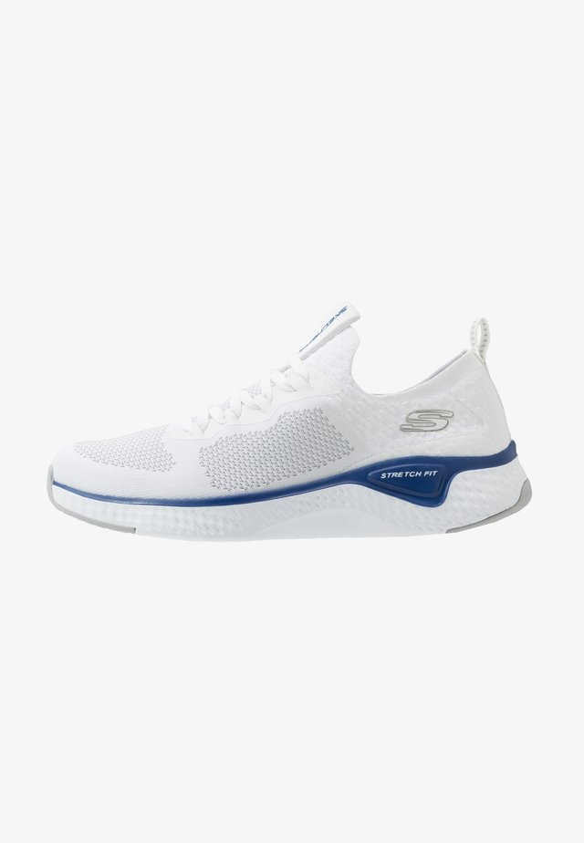 SOLAR FUSE - Zapatillas - white/blue