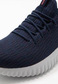 Skechers Sport - DEPTH CHARGE - Sneaker low - navy/red - 5