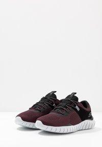 Skechers Sport - OVERHAUL - Sneaker low - burgundy/black - 2