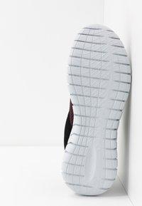 Skechers Sport - OVERHAUL - Sneaker low - burgundy/black - 4