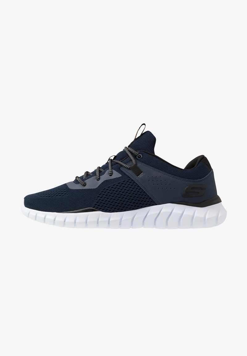 Skechers Sport - OVERHAUL - Trainers - navy/black