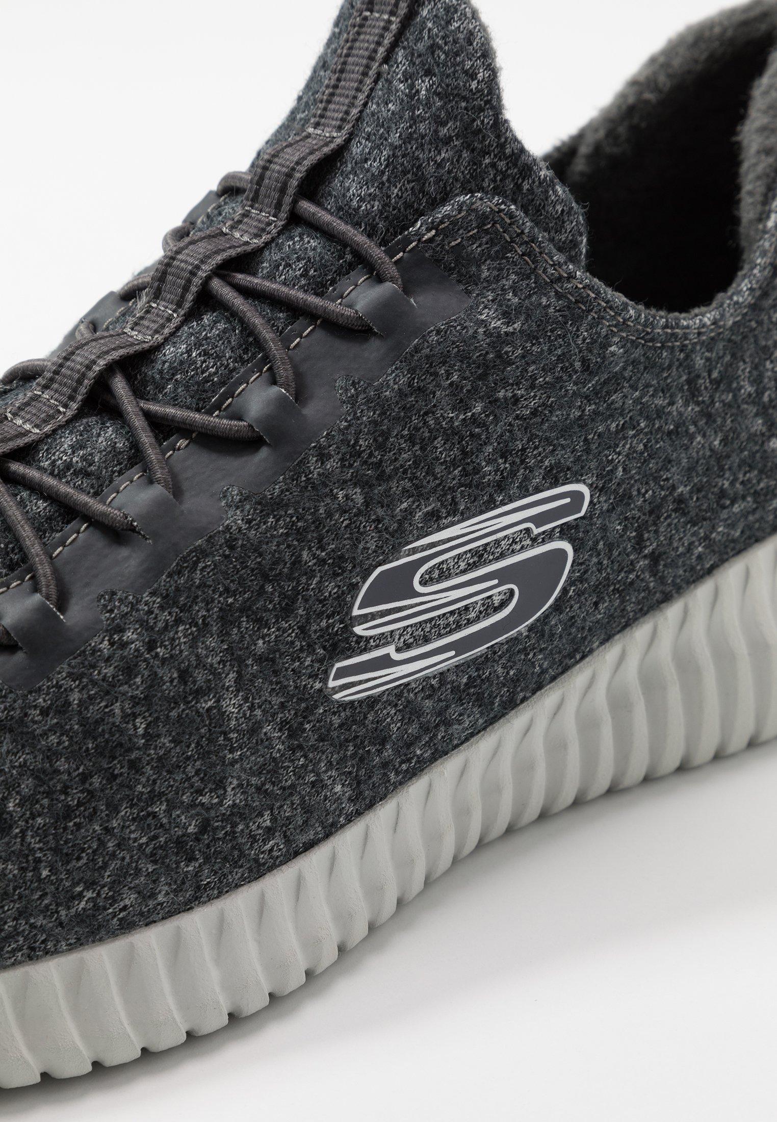 Lacci Skechers FlexScarpe Sport Elite Charcoal Senza R5Sc4Lq3Aj