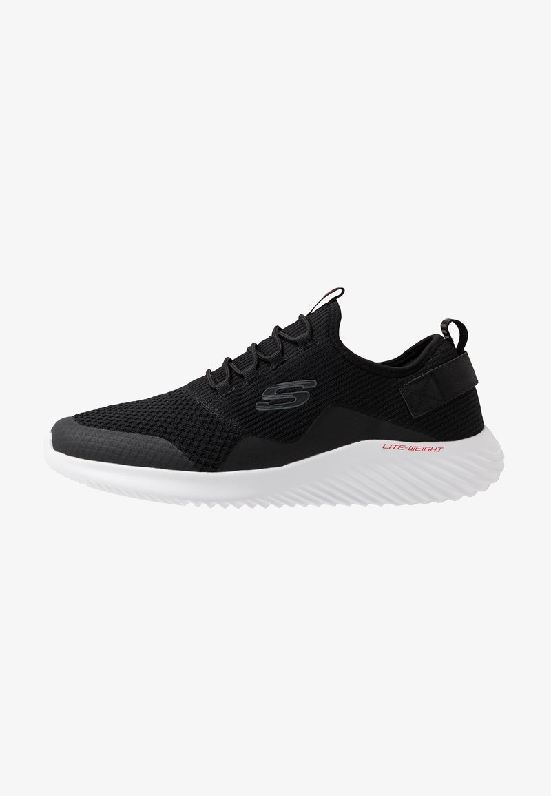 Skechers Sport - BOUNDER - Sneakersy niskie - black/white