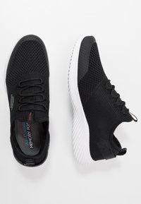 Skechers Sport - BOUNDER - Sneakersy niskie - black/white - 1