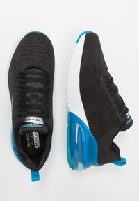 Skechers Sport - SKECH-AIR STRATUS MAGLEV - Joggesko - black/blue - 1