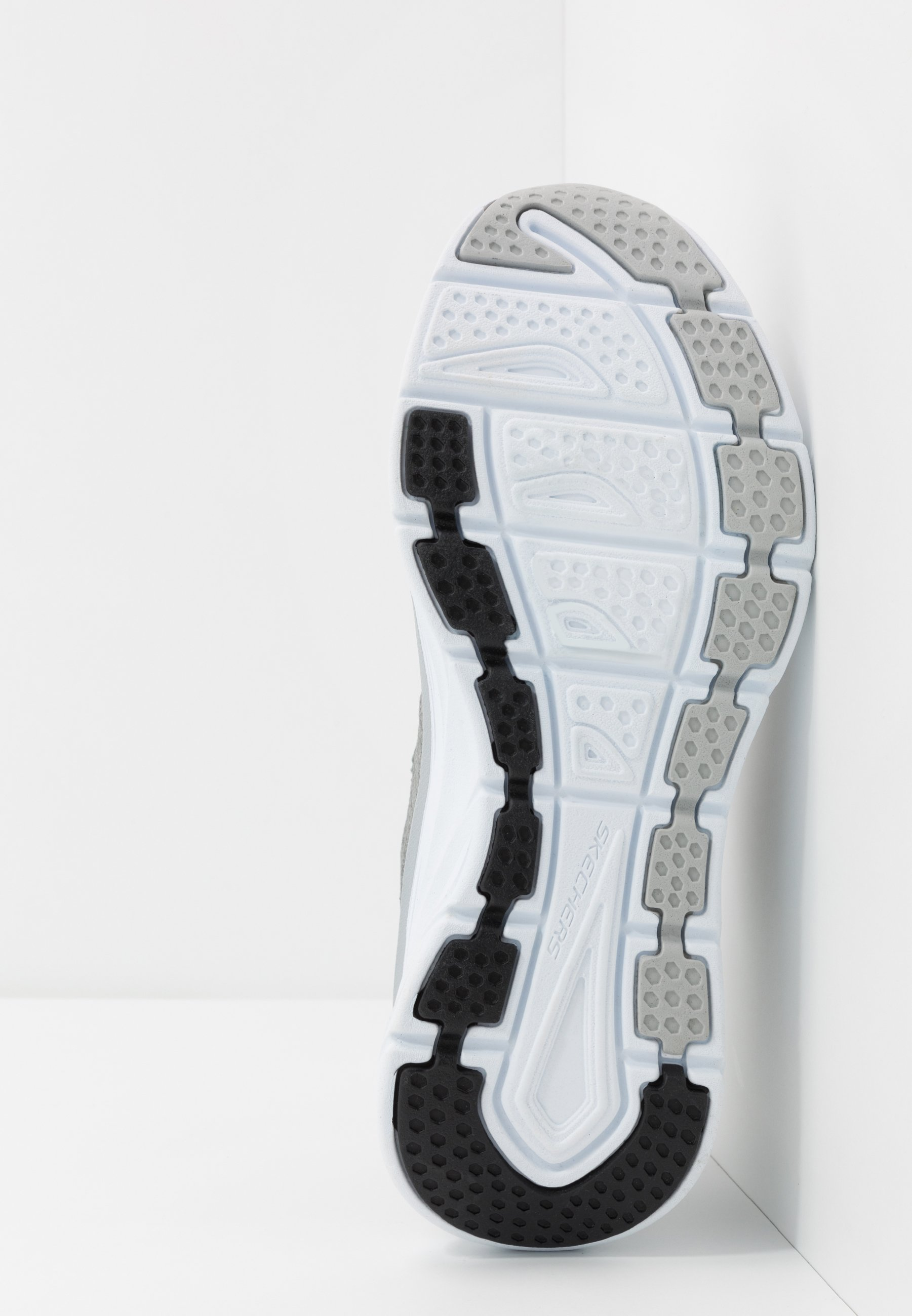 Skechers Sport D'LUX FLEX - Sneakersy niskie - gray/black