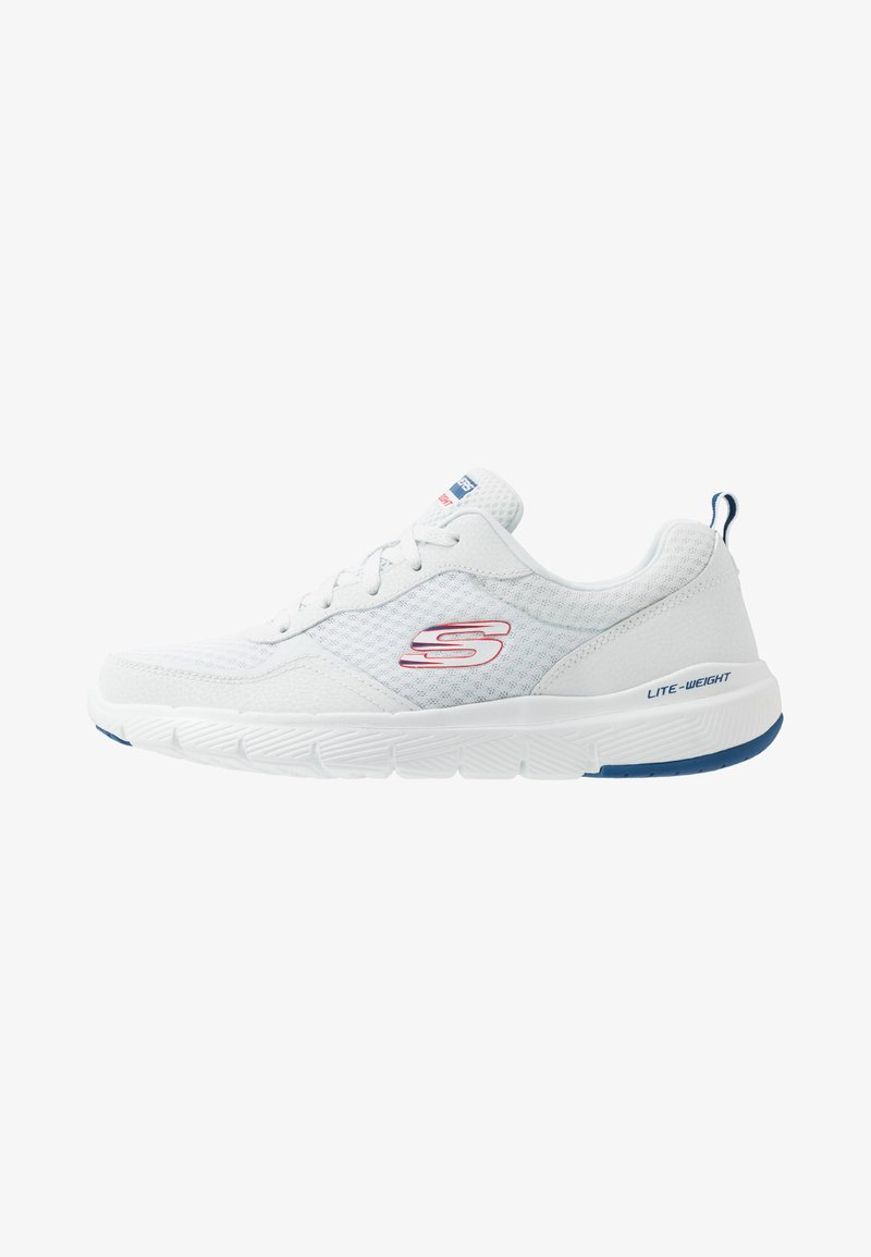 Skechers Sport - FLEX ADVANTAGE 3.0 - Sneakersy niskie - white/blue