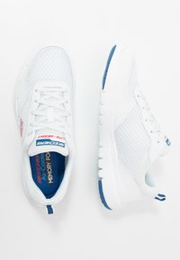 Skechers Sport - FLEX ADVANTAGE 3.0 - Sneakersy niskie - white/blue - 1