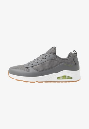 UNO FASTIME - Sneakersy niskie - charcoal/lime
