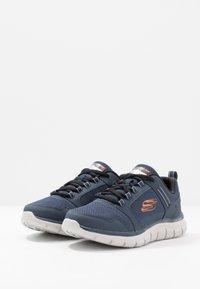 Skechers Sport - TRACK - Sneakersy niskie - navy/orange - 2
