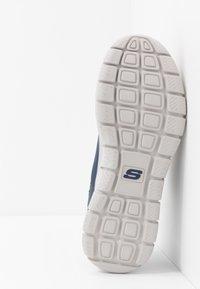 Skechers Sport - TRACK - Sneakersy niskie - navy/orange - 4