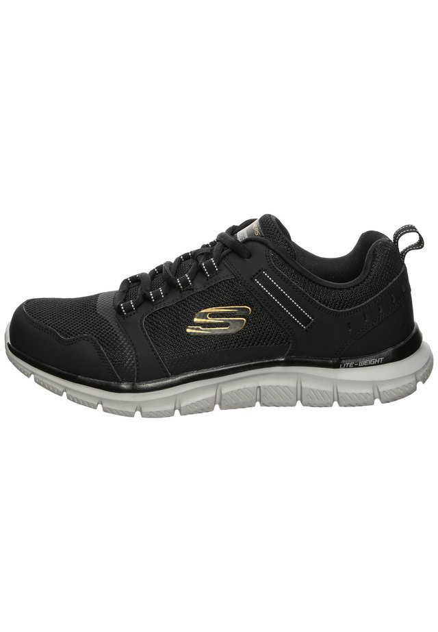 TRACK - Sneakers basse - black / dark grey