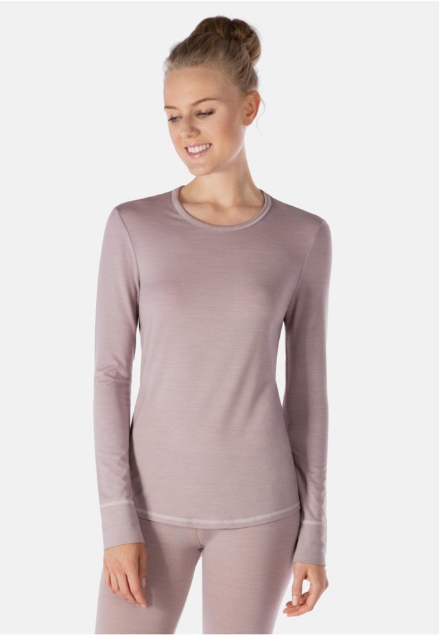 MIT THERMOREGULIERENDER FUNKT - Sweatshirt - taupe melange