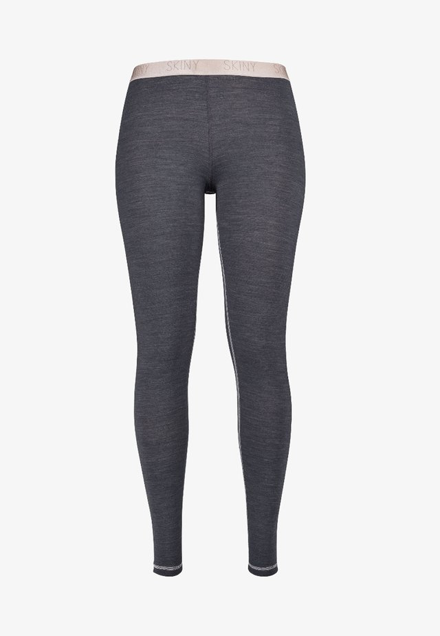 ACTIVE WOOL MIT KÜHLENDER FUNKTION - Leggings - anthracite melange