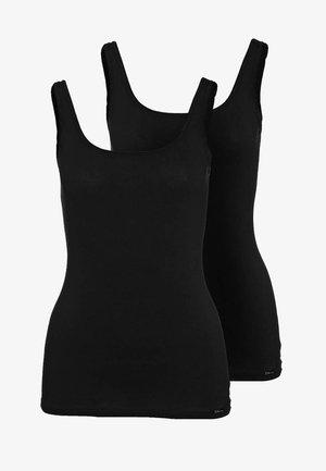 ADVANTAGE TANK TOP 2 PACK - Hemd - black