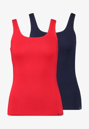 ADVANTAGE TANK TOP 2 PACK - Pyžamový top - ribbon red selection