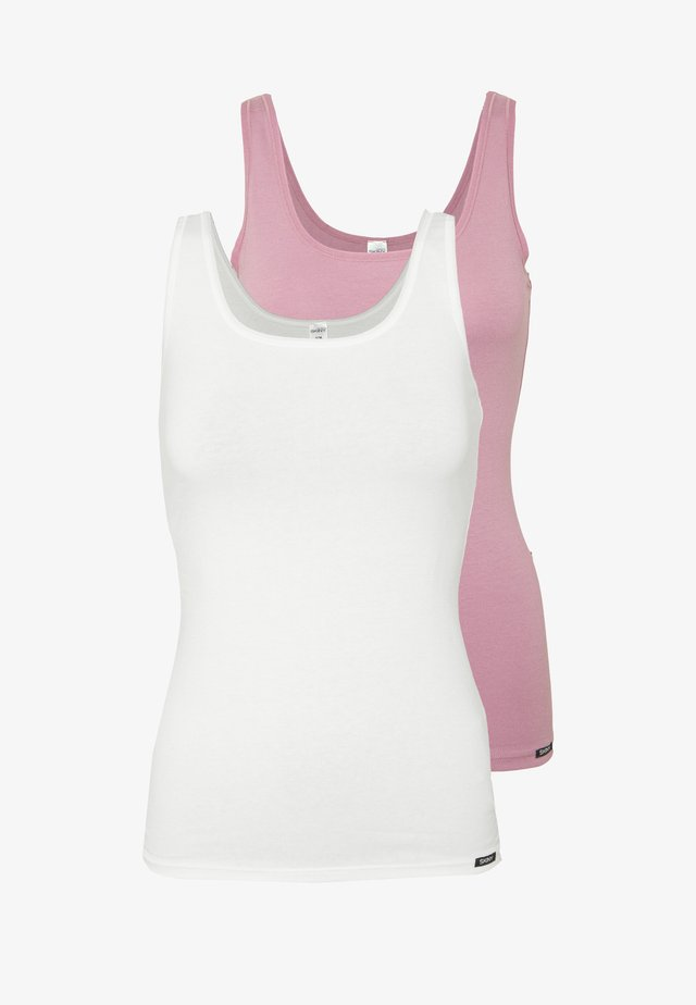 TANK TOP ADVANTAGE 2 PACK - Podkoszulki - orchid selection