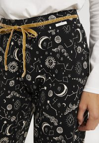 Skiny - EMPOWERED SLEEP - Pyjama bottoms - black - 4