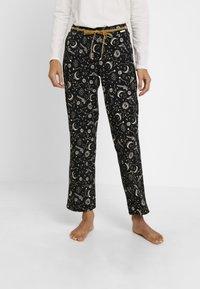 Skiny - EMPOWERED SLEEP - Pyjama bottoms - black - 0