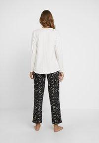 Skiny - EMPOWERED SLEEP - Pyjama bottoms - black - 2