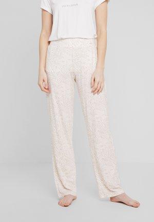 NATURE LOVE SLEEP - Pyjamasbukse - pastel