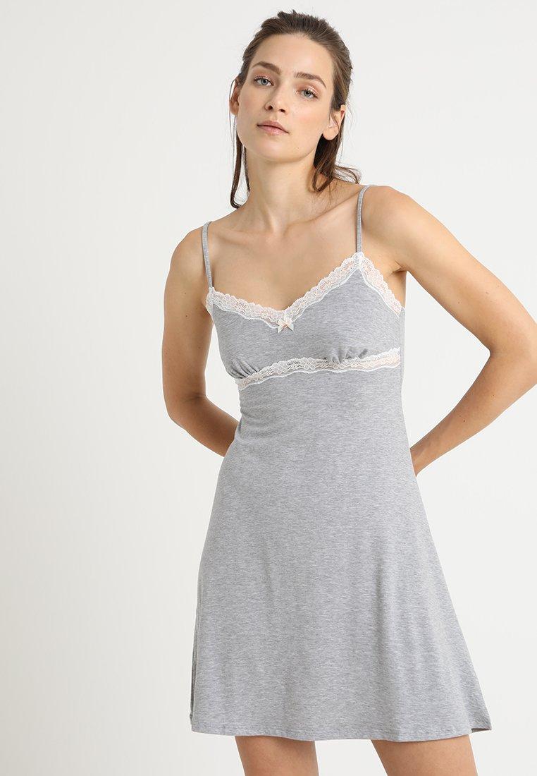 Skiny - SLEEP DREAM CHEMISE - Noční košile - grey stone melange