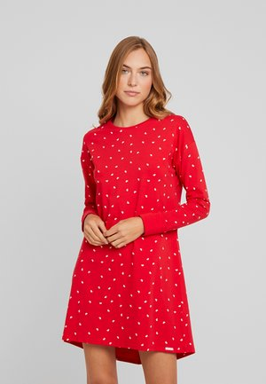JOY SLEEP LANGARM - Nightie - red