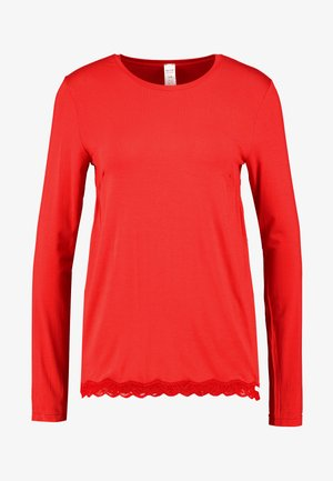 JOY SLEEP LANGARM - Nattøj trøjer - ribbon red
