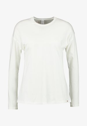 SLEEP & DREAM LANGARM - Pyjama top - ivory