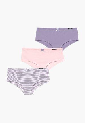 GIRLS 3 PACK - Kalhotky/slipy - lilac/light pink