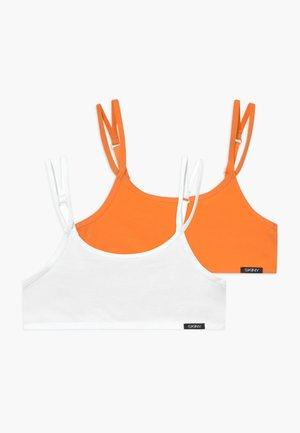 ESSENTIALS GIRLS 2 PACK - Korzet - orange selection