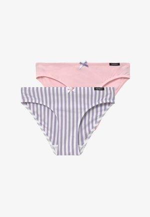 GIRLS RIO 2 PACK - Kalhotky/slipy - purple/white