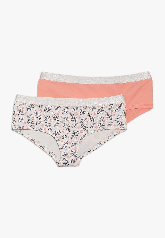 LOVELY LEAVES GIRLS 2 PACK - Pants - multicolor