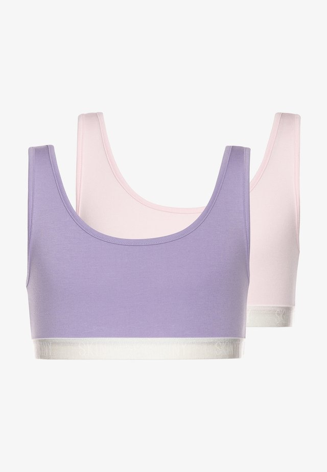 2 PACK - Bustier - lilac